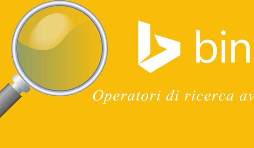 SEO & SEM Magazine: gli operatori di ricerca di Bing
